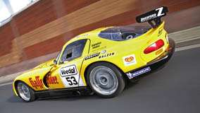 Running Zakspeed Dodge Viper In Yellow